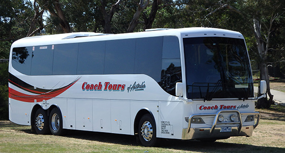 5-star Luxury Touring Coach